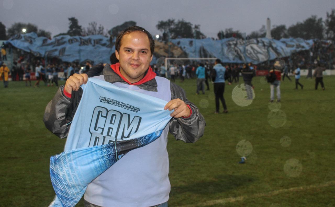 Franco Figueroa es parte del equipo de ESports de Estudiantes de Río Cuarto.