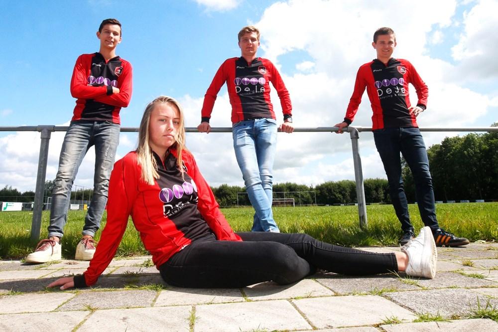 Ellen Fokkema, de 19 años, se convertirá en la primera futbolista mujer en jugar en un equipo de hombres.