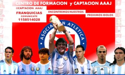 Argentinos Juniors comenzará con la captación de juveniles en la región.