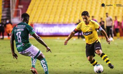 Oyola fue clave en el triunfo del Barcelona de Ecuador.
