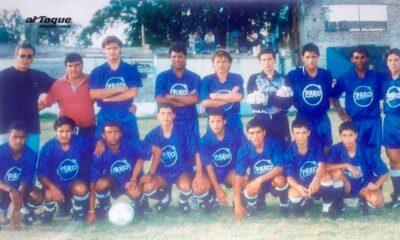 Un 27 de agosto de 1995 Defensores de Alberdi ascendía a la B de Liga Regional de Río Cuarto.