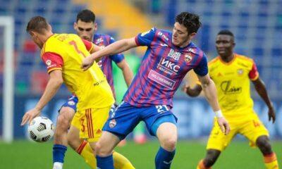 Gaich anotó su primer gol en Rusia.