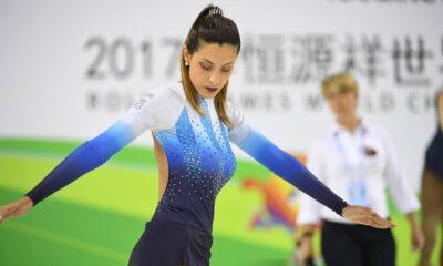 La patinadora argentina logró tres campeonatos mundiales consecutivos entre 2015 y 2017.