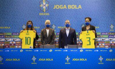 Dos mujeres estarán como las principales dirigentes de la disciplina en la máxima entidad de fútbol brasileño.