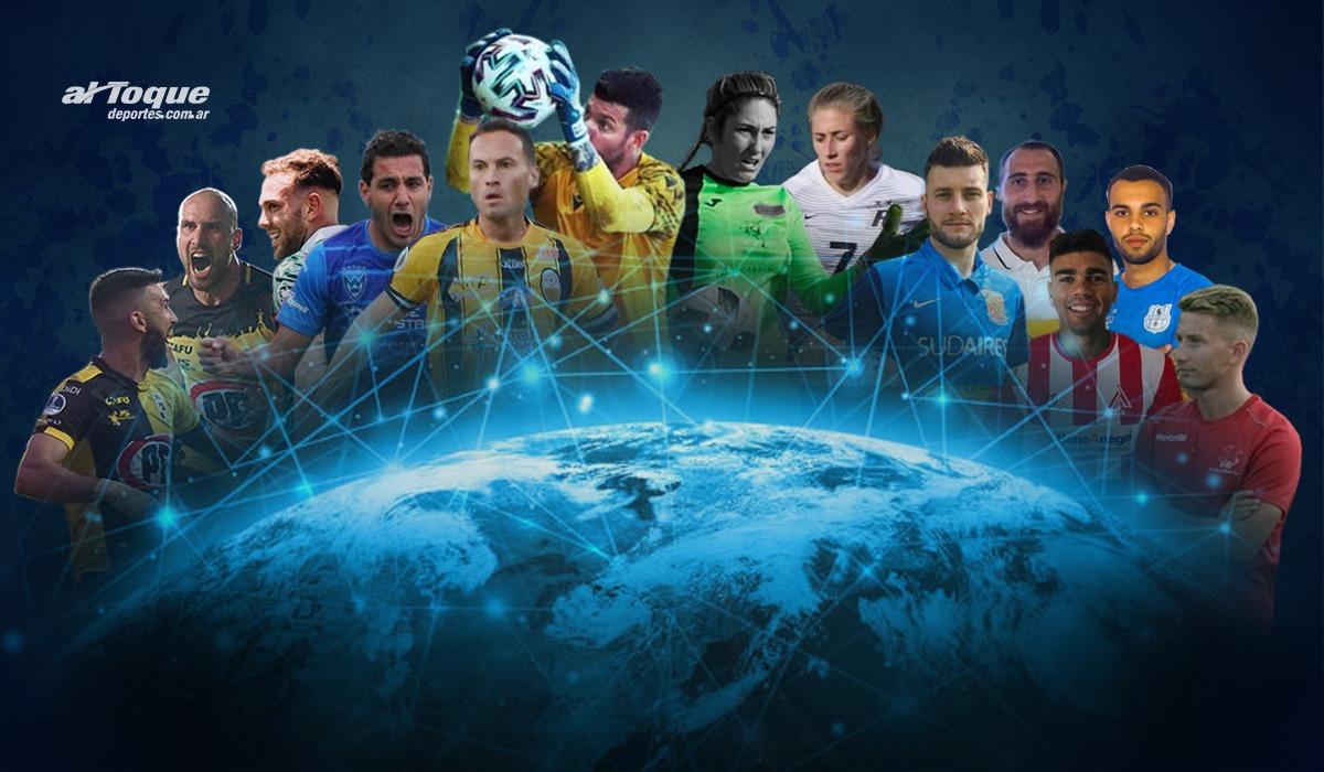 Los ligueros empiezan a desparramarse por las diferentes competencias internacionales.