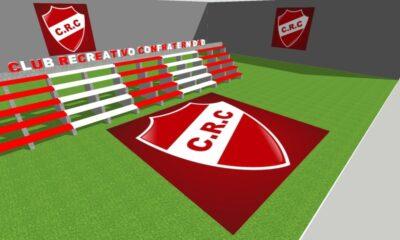 Confraternidad va por el sueño de su primera tribuna en el estadio Almirante Brown.