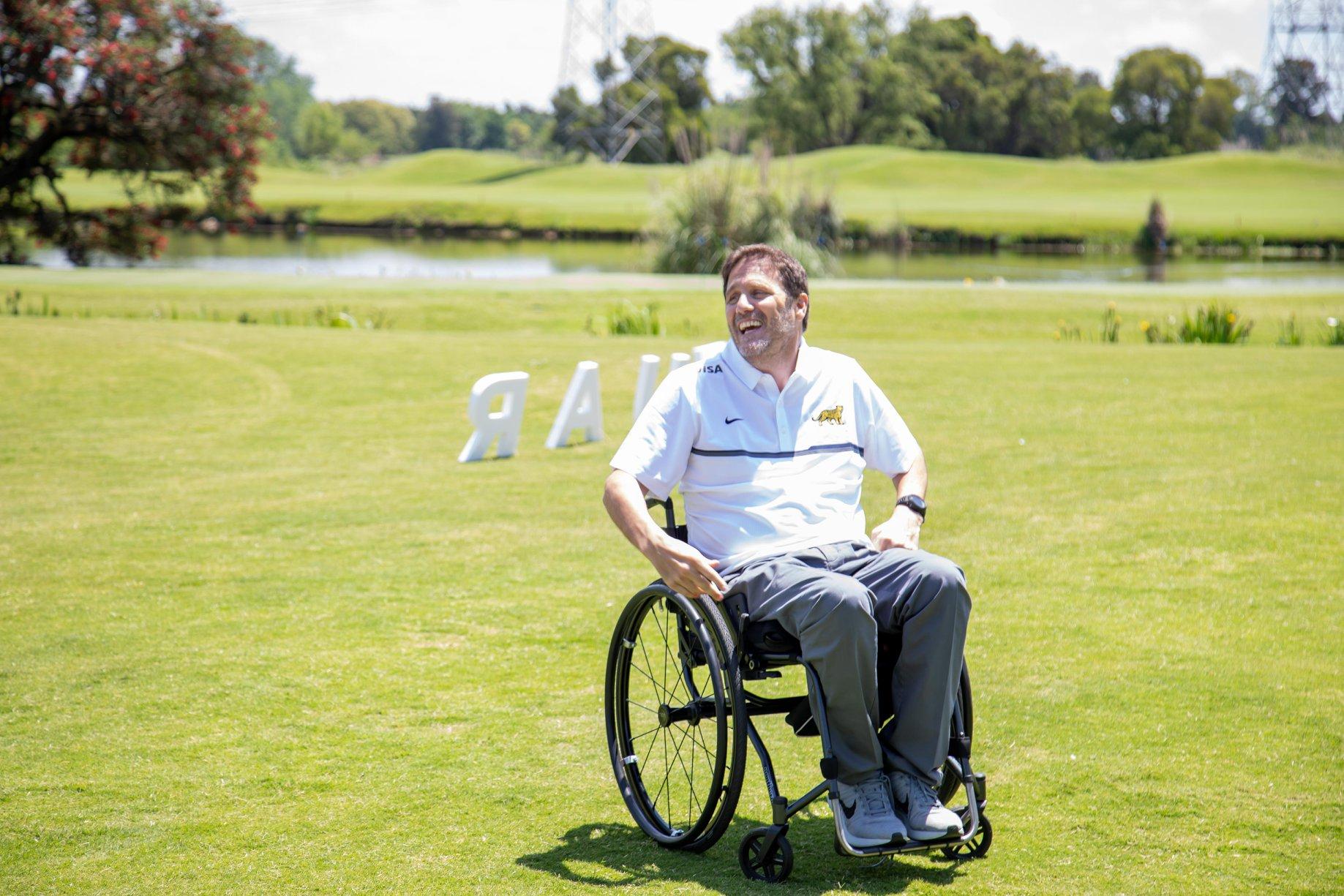 El gerente de la FUAR es Ignacio Rizzi, ex jugador de rugby que sufrió una grave lesión en Francia.