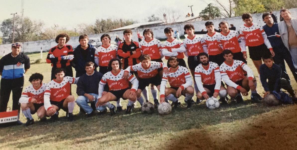 A 28 años del título liguero de Sportivo Chazón.
