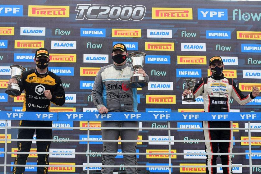 Marques y Provens acompañaron a Cravero en el podio de Alta Gracia.