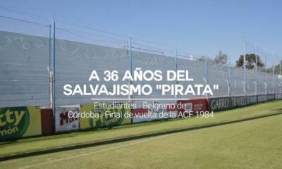 A 36 años del recordado Estudiantes-Belgrano