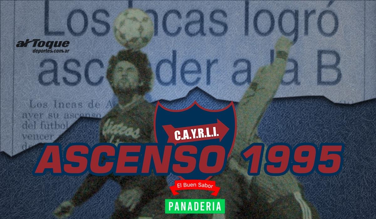 A quince años del histórico ascenso de Los Incas a Primera B de Liga.