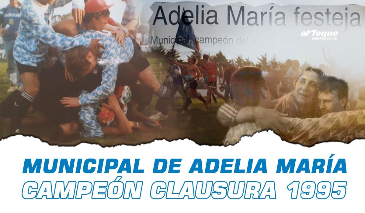 A 25 años del título más importante en la historia de Deportivo Municipal de Adelia María.