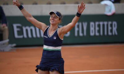 La rosarina alcanzó los cuartos de final de Roland Garros en su primera participación en el cuadro principal.