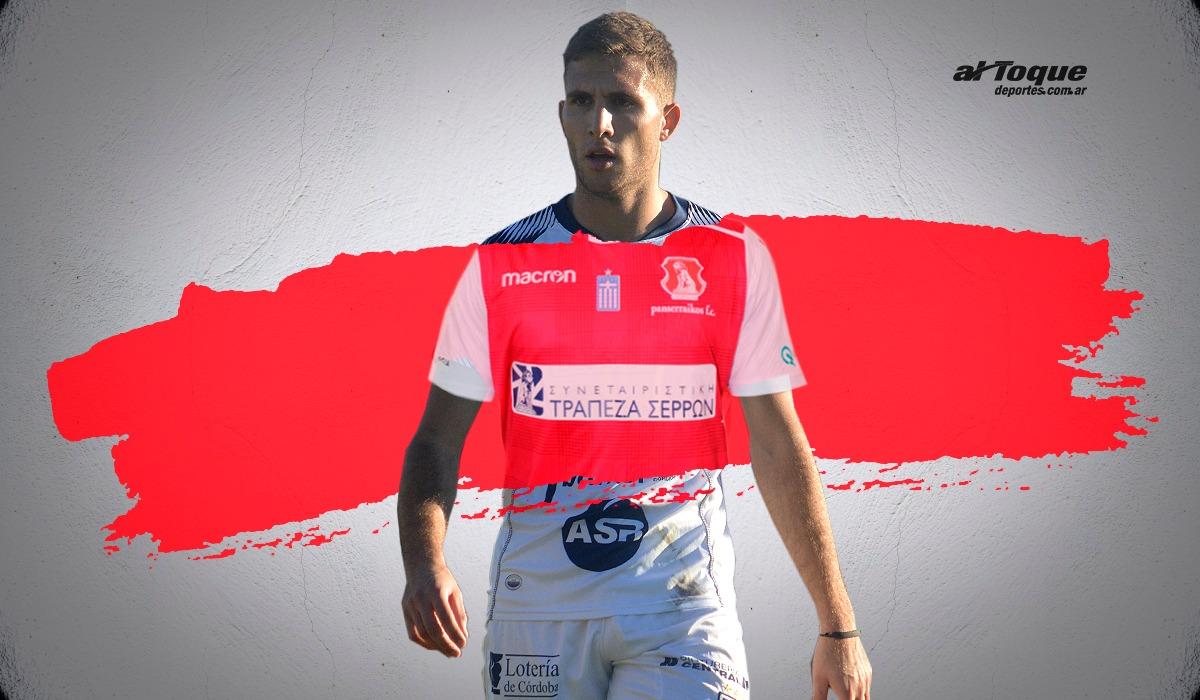 Tomás Prado cambió de club en Europa. Jugará en Panserraikos F.C.