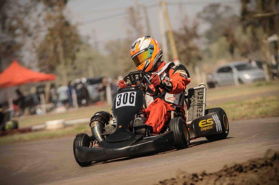 Marques correrá en kartings en Laboulaye.
