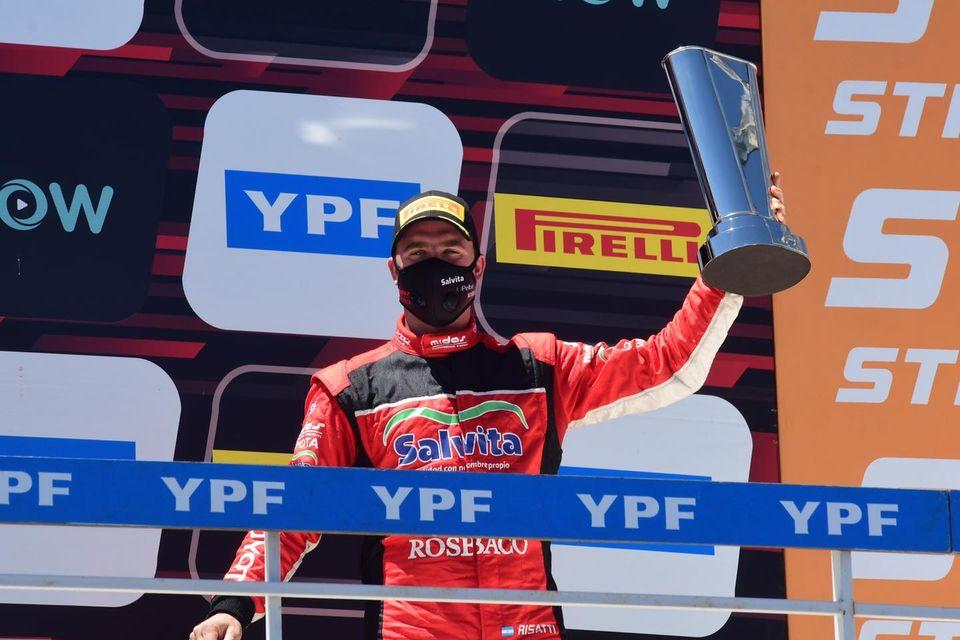 Risatti volvió a subirse al podio en el Súper TC2000.