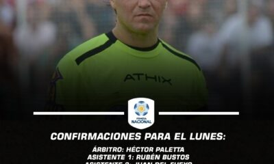 Ya están los árbitros para la primera fecha de Primera Nacional.