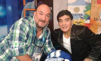 Osvaldo Wehbe fue el único que logró tener un registro radial de Maradona en su visita a Río Cuarto en el '77.