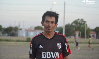 Ramoncito Contreras, el jugador del pueblo que tiene Río Cuarto.