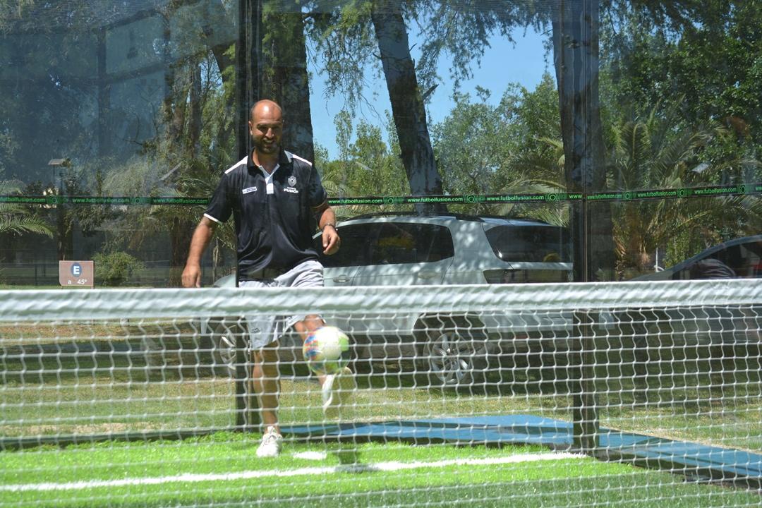 Rivera encabeza el proyecto de Fútbol Fusión.
