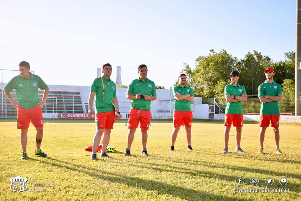 Juventud Unida de Río Cuarto volvió a los entrenamientos bajo el mando de Darío Bringas.