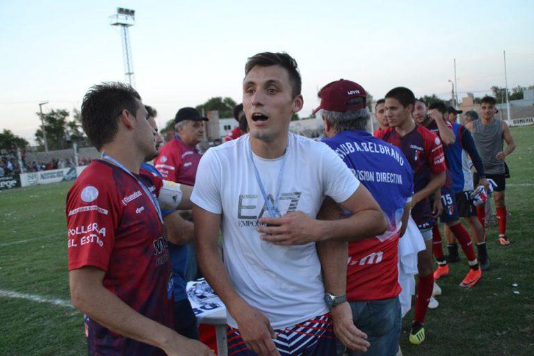 Lazarte, uno de los que seguirá vistiendo la camiseta de Belgrano de Vcuña Mackenna en 2021.