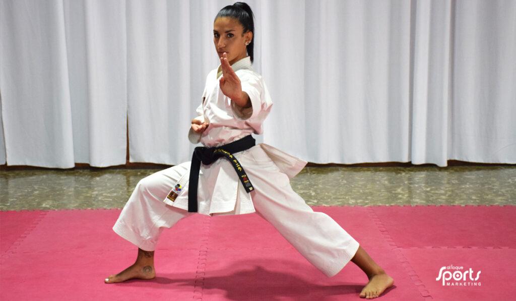 La karateca finalizó su temporada de manera exitosa y se enfoca en el 2021.