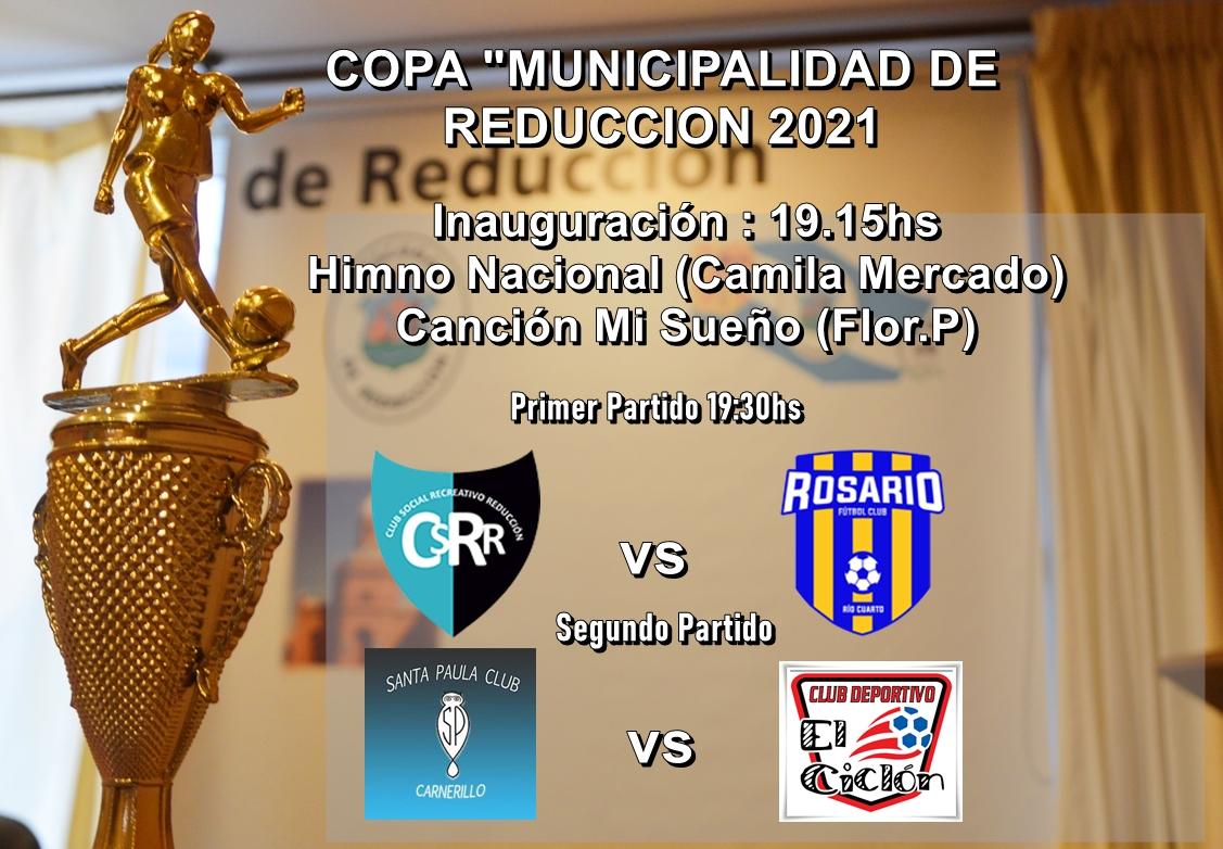 La pelota del fútbol regional rodará este fin de semana en Reducción.