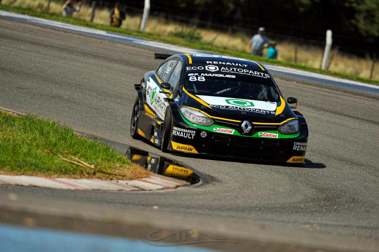 Facu Marques, segundo en TC2000, va por la punta del torneo este finde en Paraná.