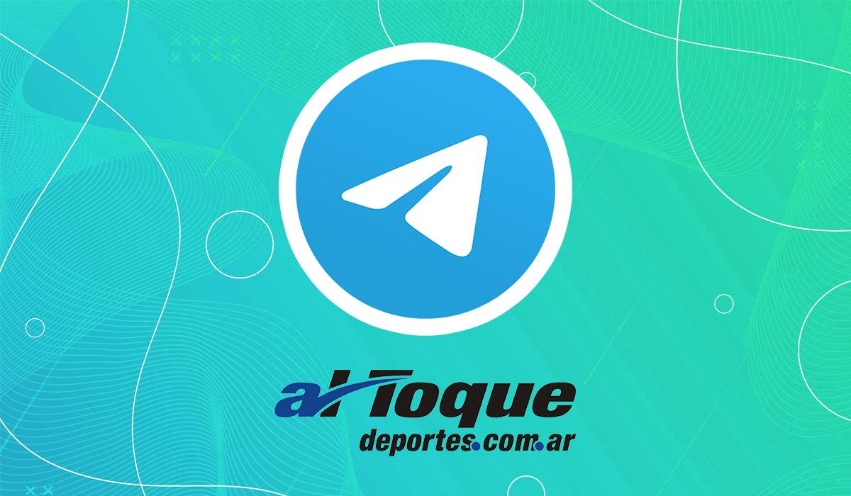 Al Toque Deportes está en Telegram
