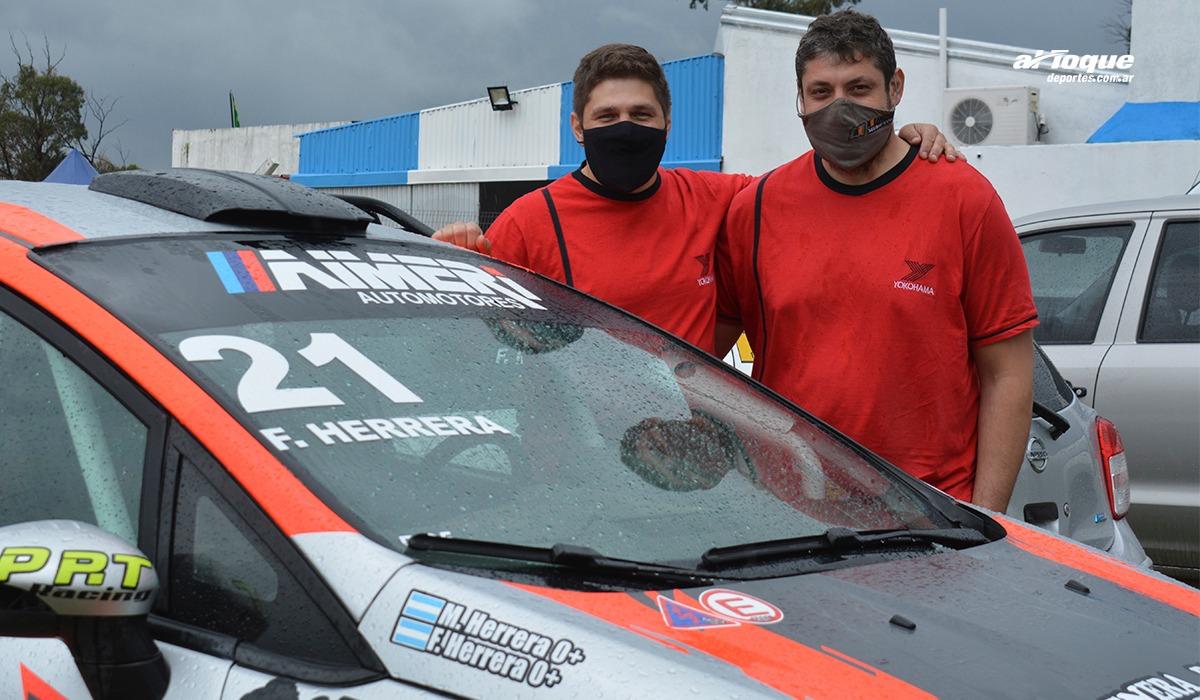 Los hermanos Herrera serán parte del Rally puntano el último finde de enero.
