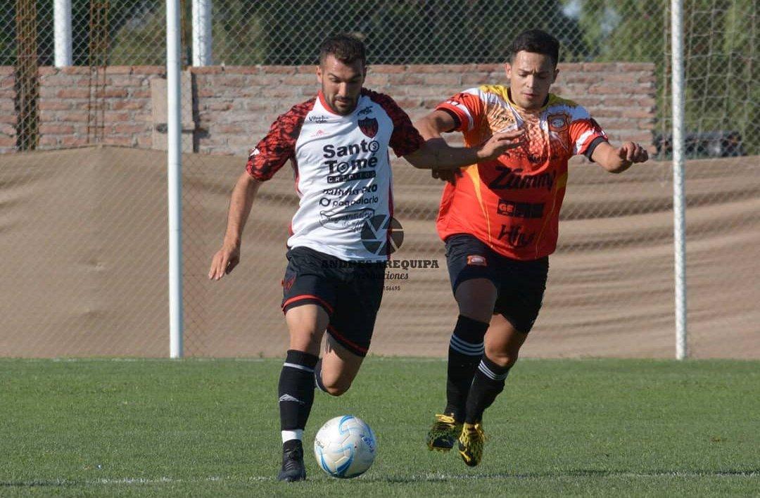 Lucio Pérez se ilusiona con la clasificación a la próxima instancia del Regional Amateur con el equipo de Torrico.