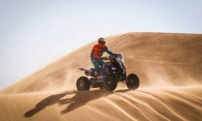 Cavigliasso fue segundo en la Etapa 4 y saltó a la cima en la general en categoría quads del Dakar.
