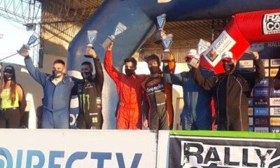 Herrera y Grandis se ilusionan con triunfos en la vuelta del Rally Cordobés.