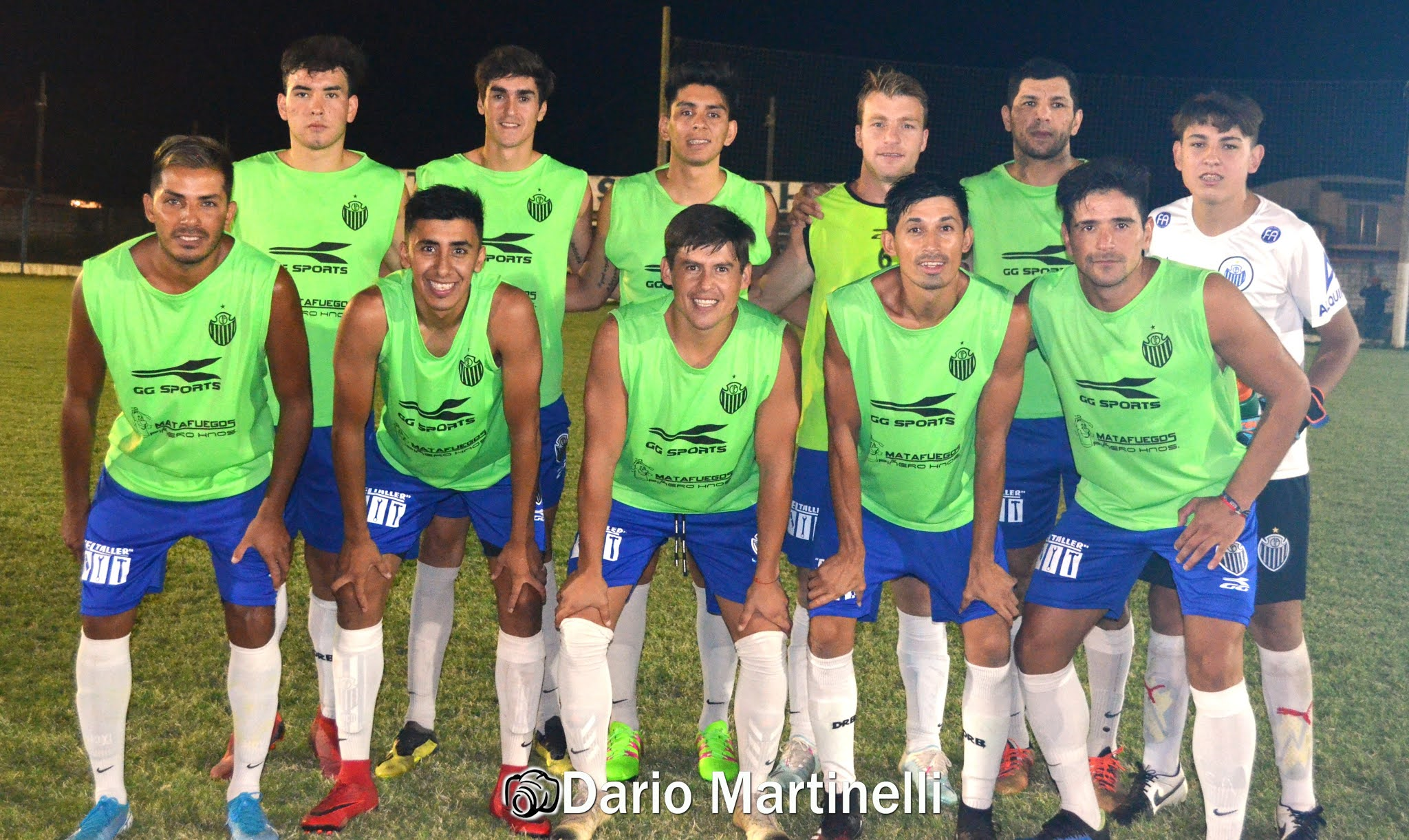 Atlético Sampacho goleó 5-1 a Los Incas en un amistoso.