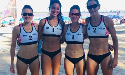 """Las """"mellis"""" Lisa finalizaron en el octavo puesto en la quinta fecha del Nacional en Rosario."""