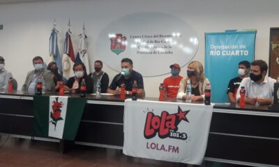 La presentación de la tercera edición del Rally Bike Achiras.
