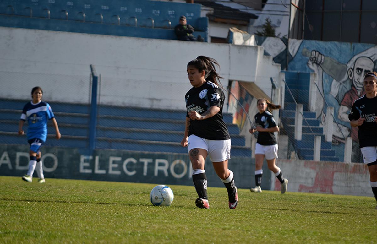 González vistiendo la camiseta de la Selección de la Liga Regional de Río Cuarto.