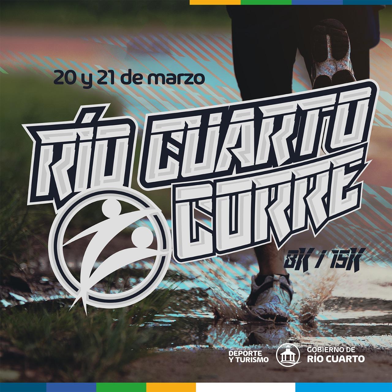 Desde este lunes comenzaron las inscripciones del Río Cuarto Corre 2021.