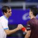 El saludo final entre Ramos y Londero, tras la victoria del español.