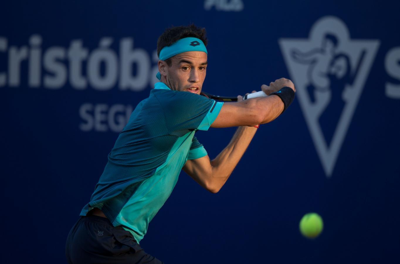 Nicolás Kicker fue uno de los beneficiados con una invitación al cuadro principal del Córdoba Open 2021.