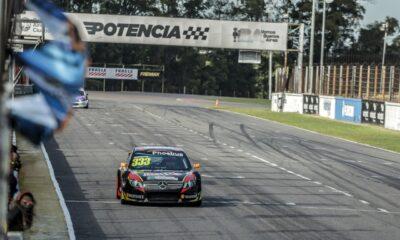 Carlos Guttlein cerró la temporada con un gran fin de semana en el Top Race.