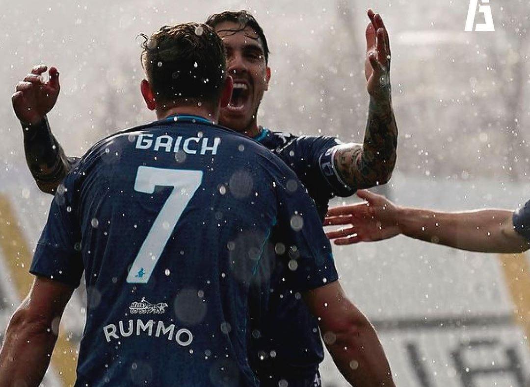 Adolfo Gaich anotó su primer gol con Benevento en el empate 1 a 1 ante Spezia por la vigésima sexta fecha de la Serie A.