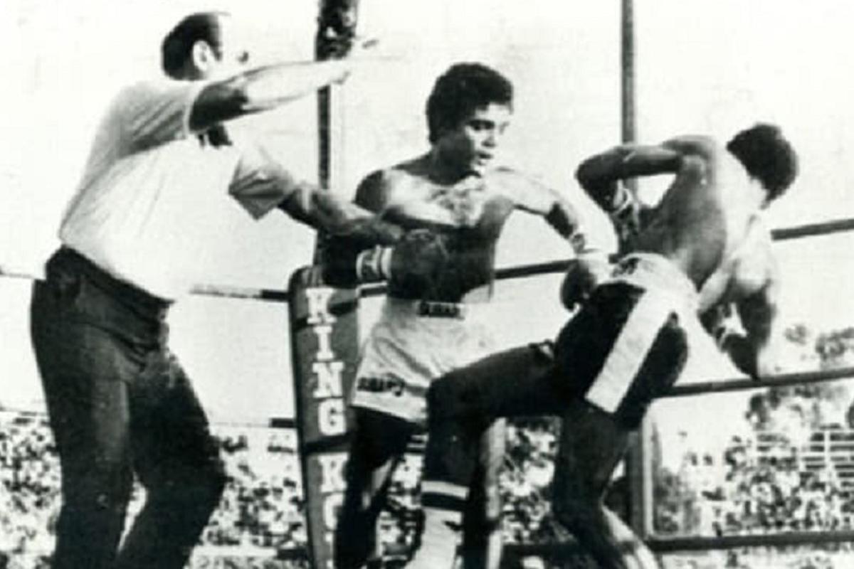La pelea en Sudáfrica entre Laciar y Mathebula, que le dio el título mundial al argentino.