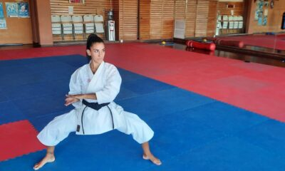 La karateca participó de un entrenamiento de una semana en el CeNARD.