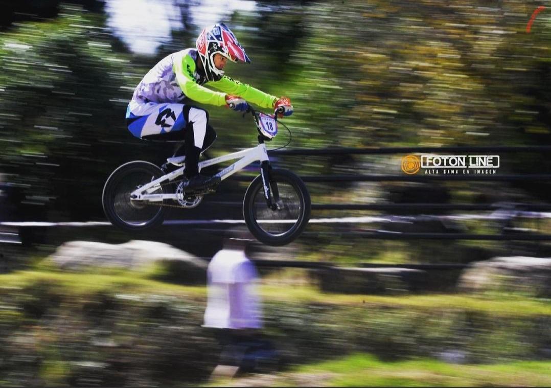 El ciclista riocuartense debutó en el Campeonato Provincial 2021.
