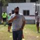 El entrenador de Renato, Gabriel Bozzer.