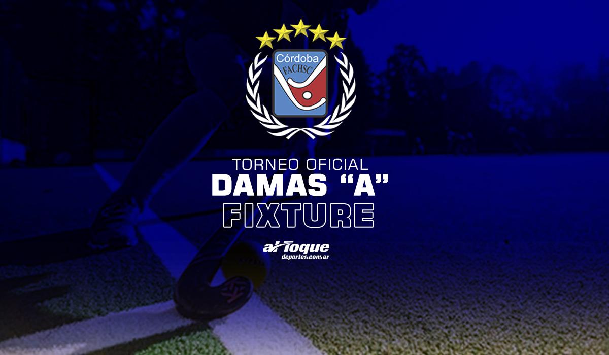 La Federación Cordobesa ya oficializó el fixture para el tradicional Torneo Damas A, la máxima categoría del hockey provincial.