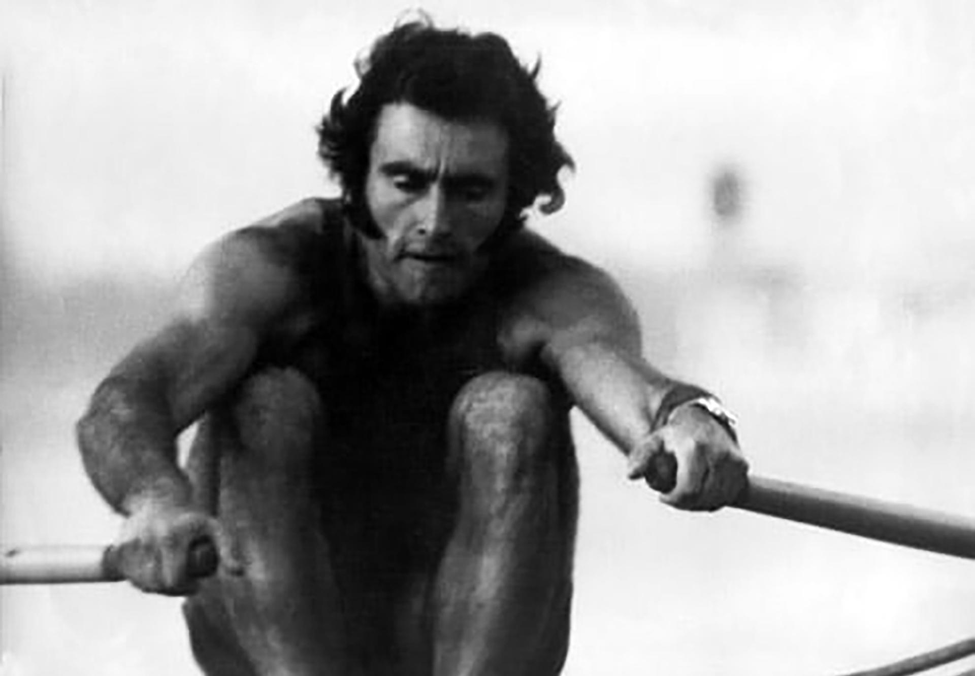 Alberto Demiddi, el mejor remero de Argentina