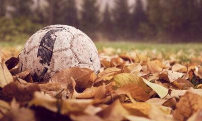 Fotografía de pelota de fútbol